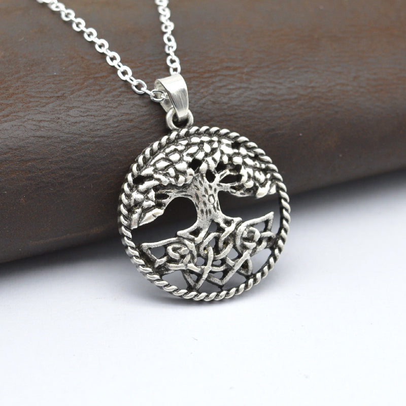 Natural Spirit Tree Of Life Pendant Necklace