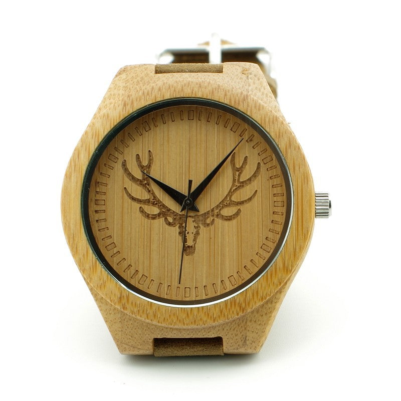 Elk Bamboo Watch