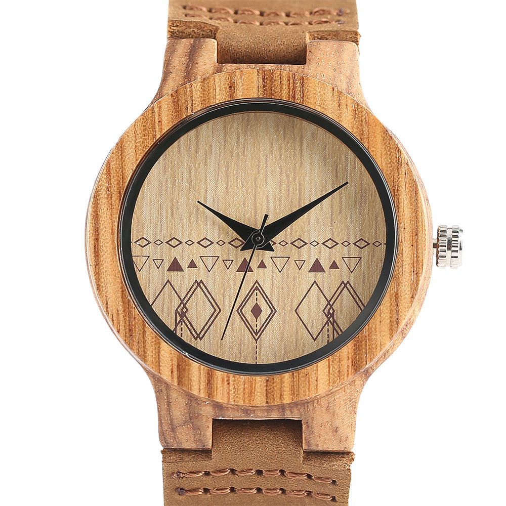 Handmade Natural Bamboo Watch