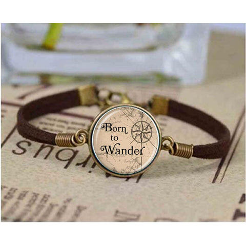 Born To Wander Bracelet
