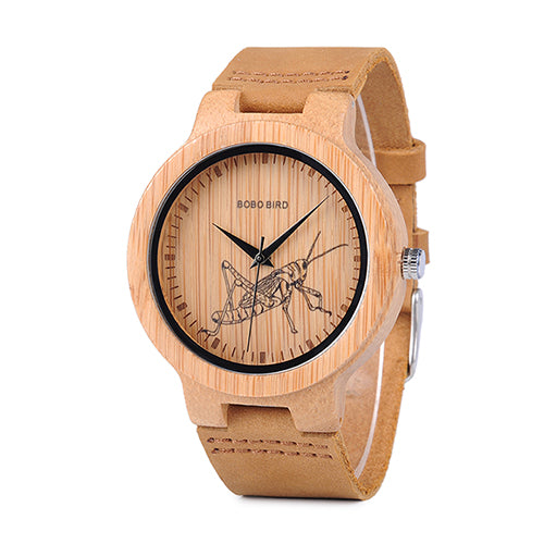 Nature Inspired Bamboo Watch