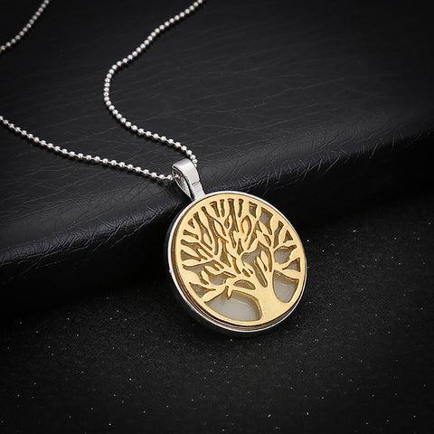 Tree Of Life Pendant Necklace That Will Glow At Night