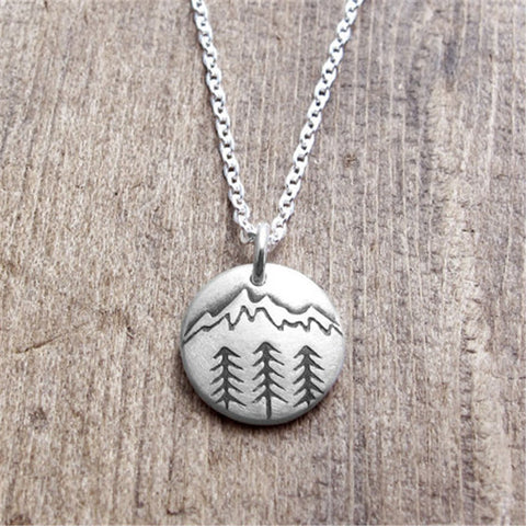 Mountaineering Pendant Necklace