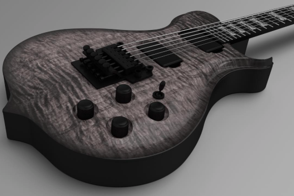 Oryx - M                (Guitar can be fully customized, E-mail your requests)