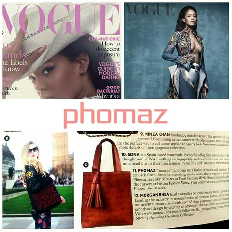 Phomaz featured in British Vogue!