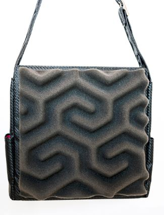 Rad Tote in Slate - Phomaz Handbags