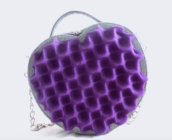Power in Purple Crossbody