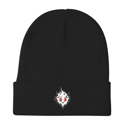Mister Creazil Embroidered Knit Beanie