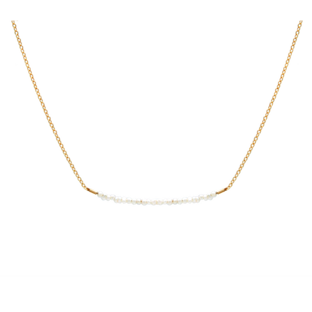 Jurate Goddess Tiny Pearl Neck