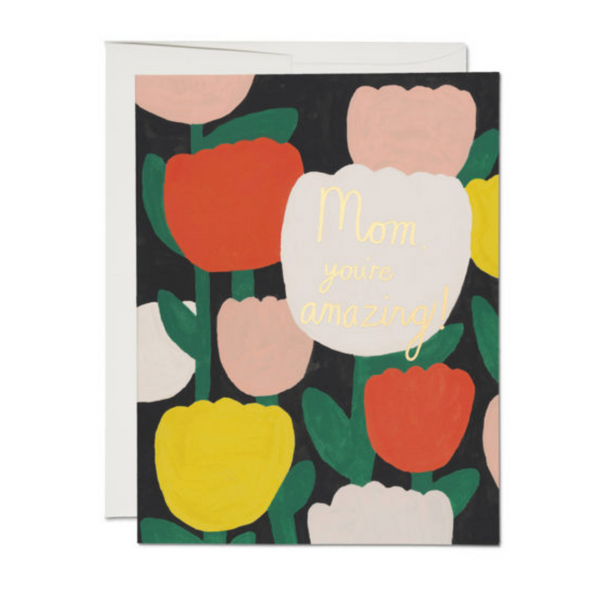 Amazing Tulips Card