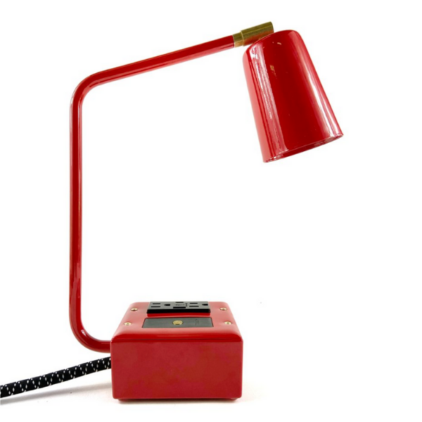 "Conway Electric Jax USBC Task Lamp ""Bottle Rocket Red"""