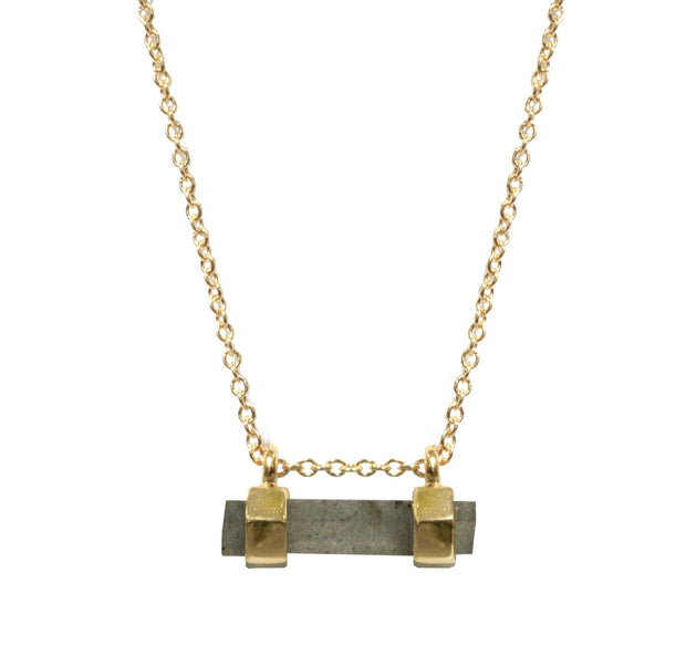 Gem Bar Necklace