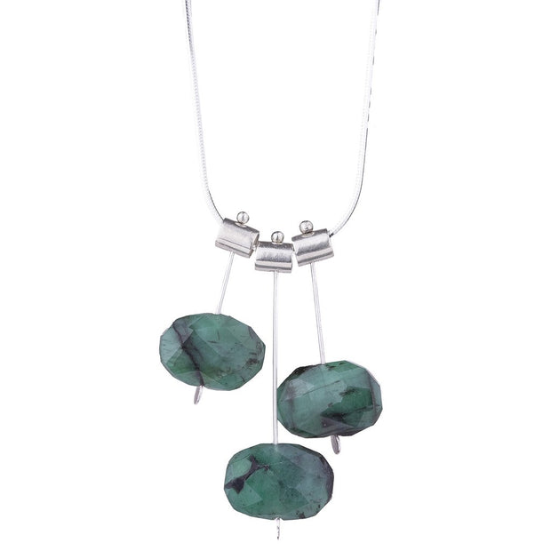 3 Pivot Labradorite Petal Necklace