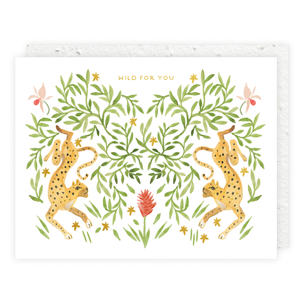 Jungle Cats Card