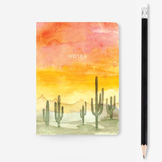 Sunset Mini Notebook