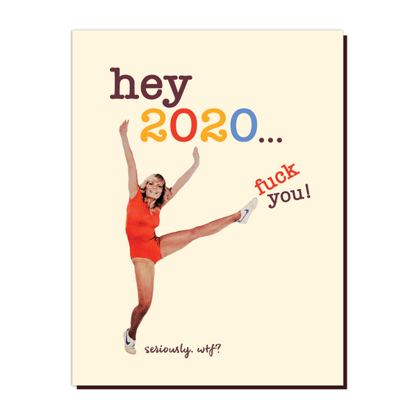Offensive & Delightful 2020 Card