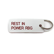 Keytag- Rest In Power RBG