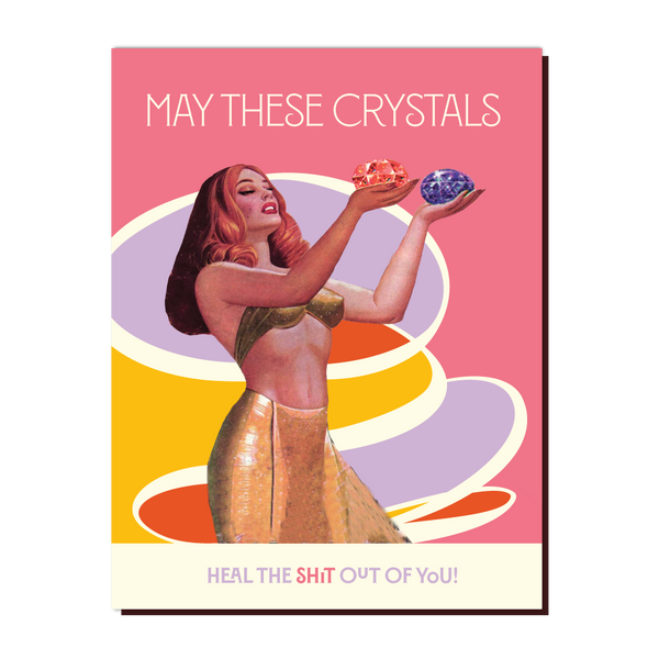 Crystal Heal Card