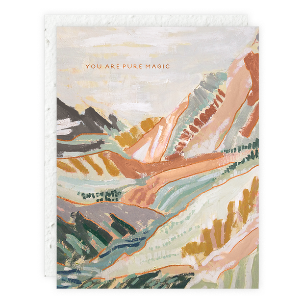 Mountain Road Card