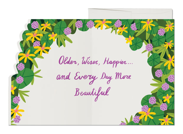 Beautiful You Birthday French Fold Card
