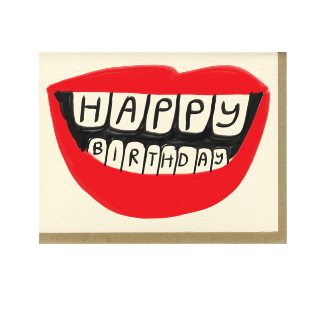 People I've Loved Birthday Lips Card