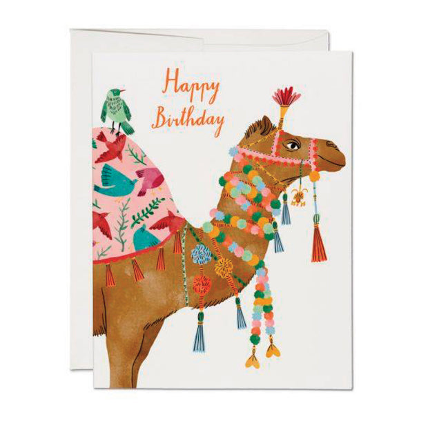 Camel Birthday Card