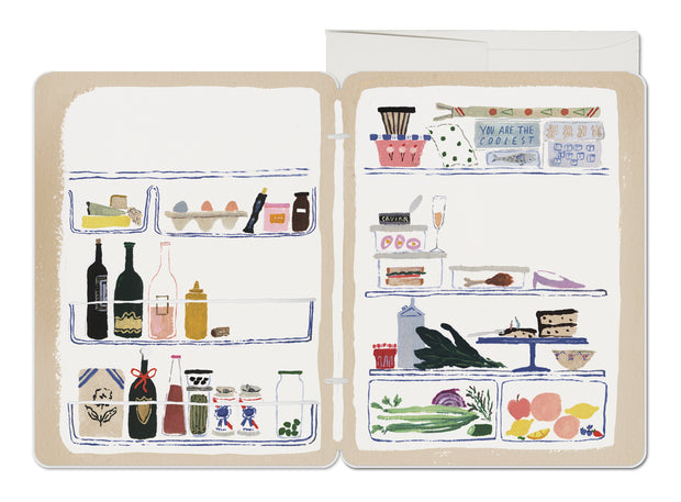 Refrigerator French Fold Card