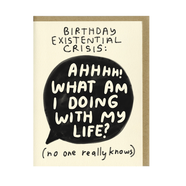 Birthday Crisis Card