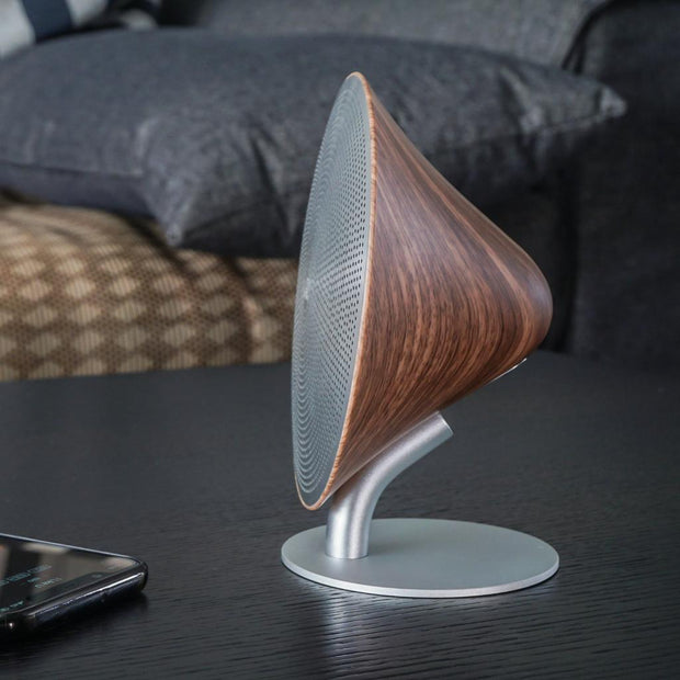 Mini Halo One Walnut Bluetooth Speaker