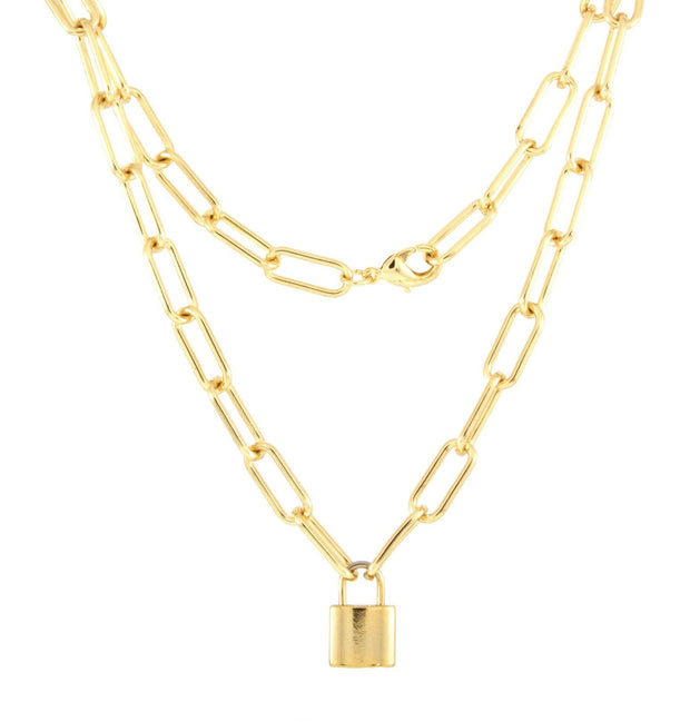 Lady Boss Gold Plated Necklace