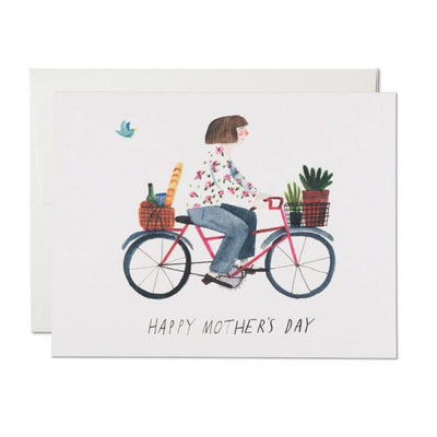 Mother's Bike Card