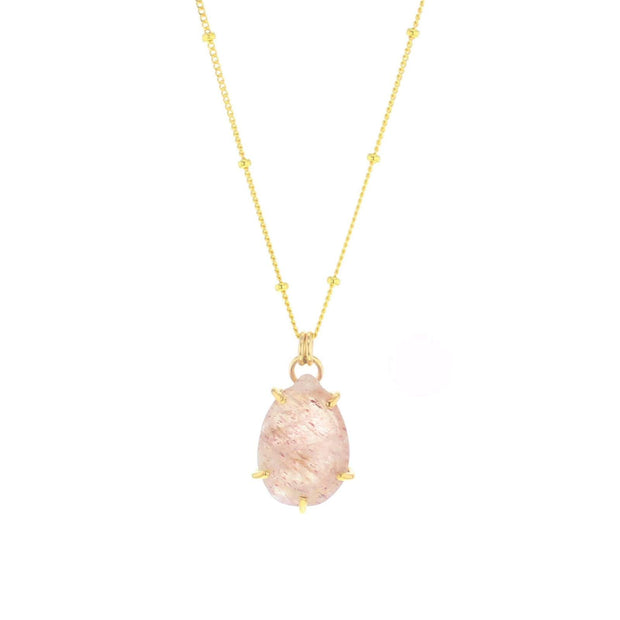 Lotus Sonoma Necklace Cherry Qtz