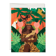 Queen of Life Birthday French Fold Card