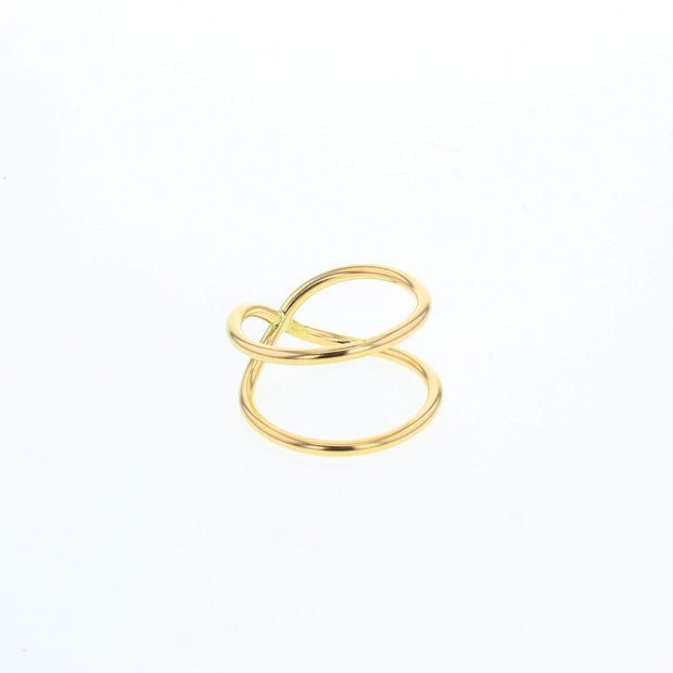 Nimbus Gold Filled Ring by Lotus Jewelry Studio