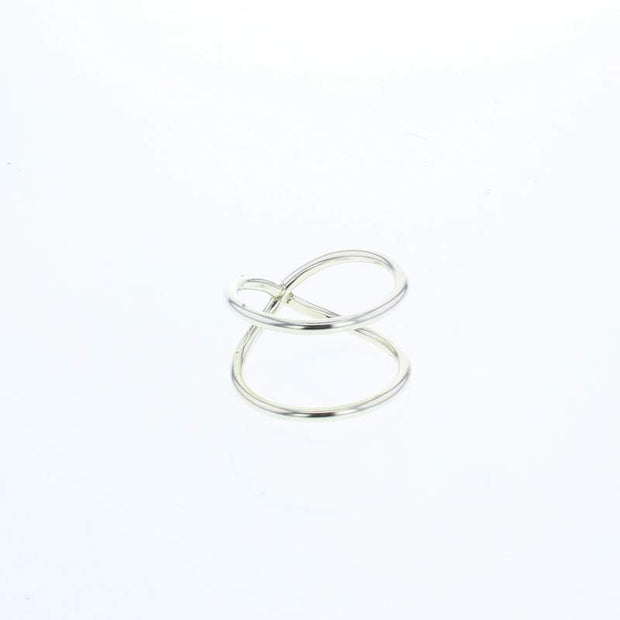 Nimbus Sterling Silver Ring by Lotus Jewelry Studio