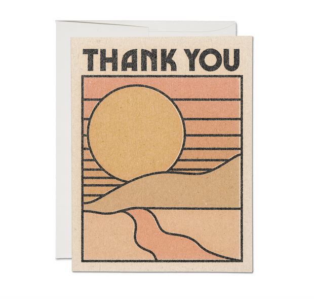 Thank You Sun Card