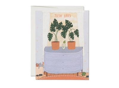 Nursery Plants Card