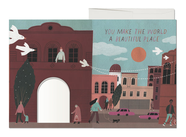 Beautiful Place French Fold Card