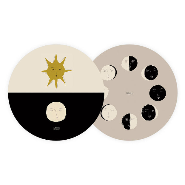 Moon Phases Coaster Set