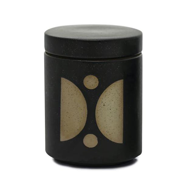 Form Black Ceramic Candle- Palo Santo Suede