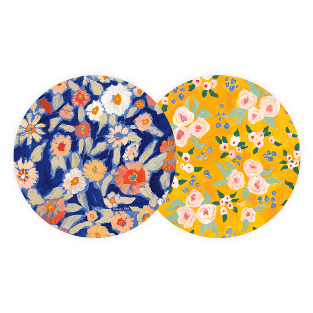 Wildflower Coaster Set
