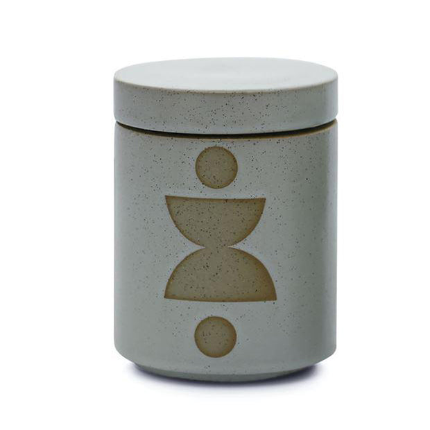 Form Green Ceramic Candle- Spanish Moss