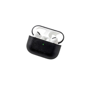 Leather Airpods Pro Case - Black
