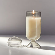 Juniper & Mint Candle in Smoke Cloche