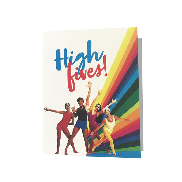 High Fives Greeting Card