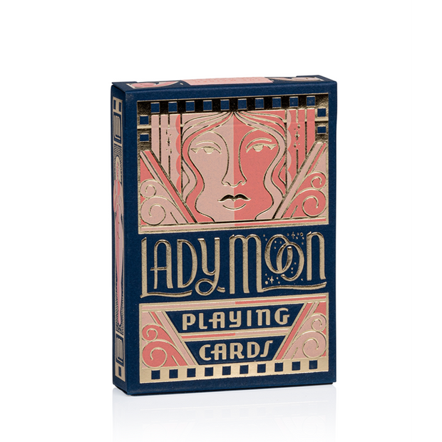 Lady Moon Playing Cards