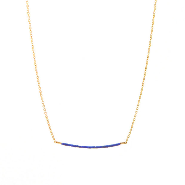 Jurate Tuesday Tiny Lapis Necklace