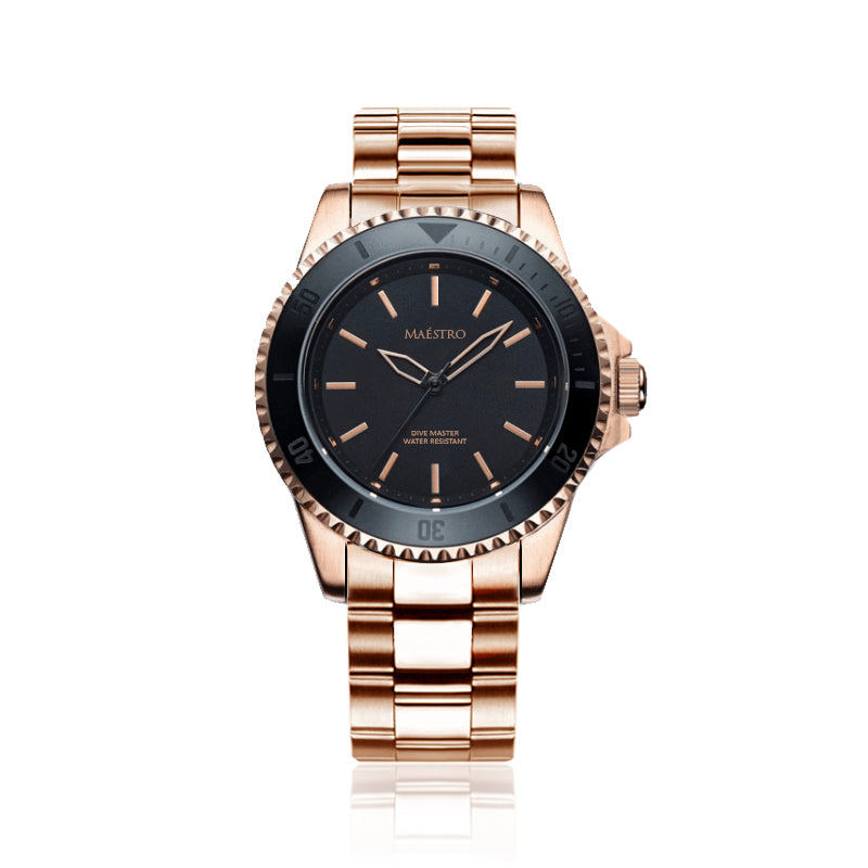 DIVE MASTER EDITION ONE - ROSE GOLD