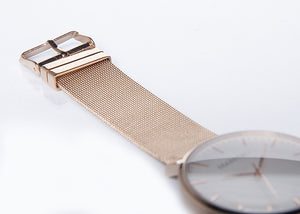 Rose Gold - Mesh Strap 20mm
