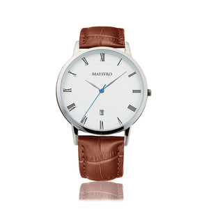 The Lusso - Brown & Silver
